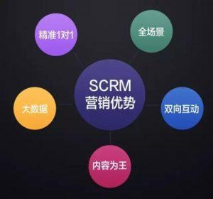 营销、 SCRM营销优势、内容、大数据